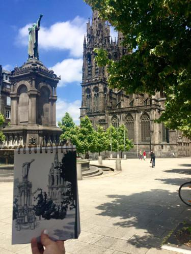 Place de la Victoire à Clermont Ferrand