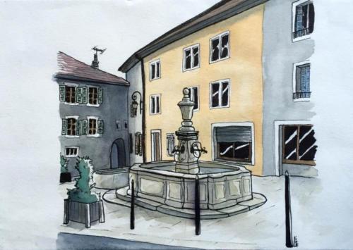 Fontaine de Gex