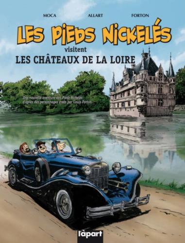 Les Pieds Nickelés visitent les châteaux de la Loire